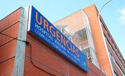 Trasladado al hospital por intoxicación tras incendiarse su vivienda en Toledo