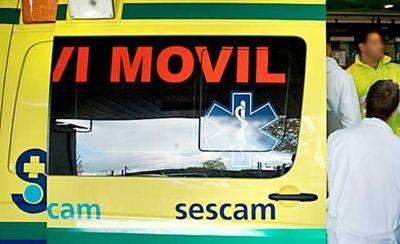 Fallece el conductor de un camión al salirse de la vía y volcar su vehículo en Calera y Chozas