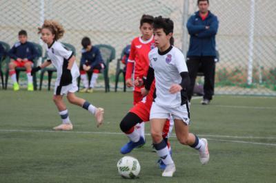 Las toledanas de fútbol-8, campeonas regionales a falta de una jornada