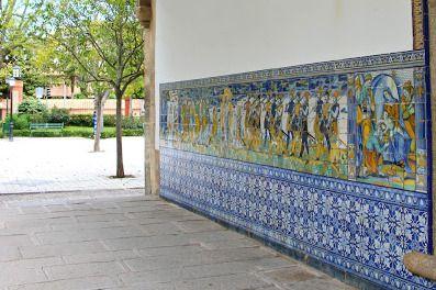 Pórtico de la Basícia del Prado, en Talavera de la Reina