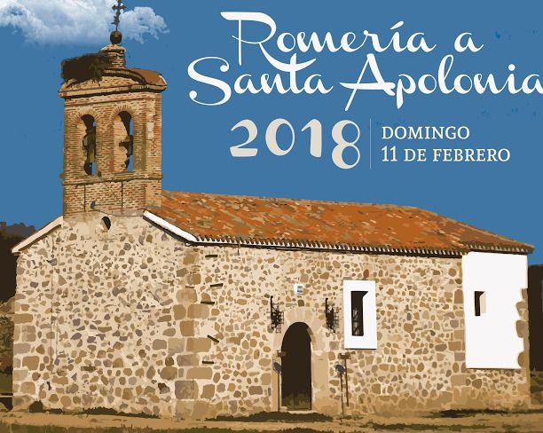 Todo listo para la Romería a Santa Apolonia de este domingo