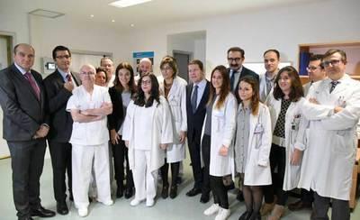 Page invertirá 28 millones de euros en la renovación de los aparatos de los hospitales de CLM