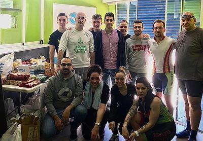 NNGG Fuensalida recoge más de 500 kilos de alimentos en la primera parte de su IV Maratón de Spinning Solidario
