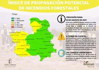 Se mantienen altos los niveles de IPP en el Valle del Tajo