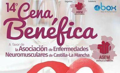 ASEM-CLM celebra su XIV cena benéfica el próximo 10 de marzo