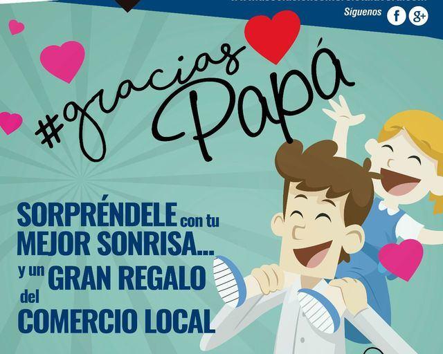 El comercio de Talavera pone en marcha la campaña #graciaspapá