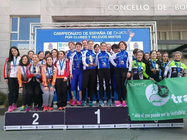 El Talavera Trainning femenino consigue el ascenso a Segunda División de Duatlón