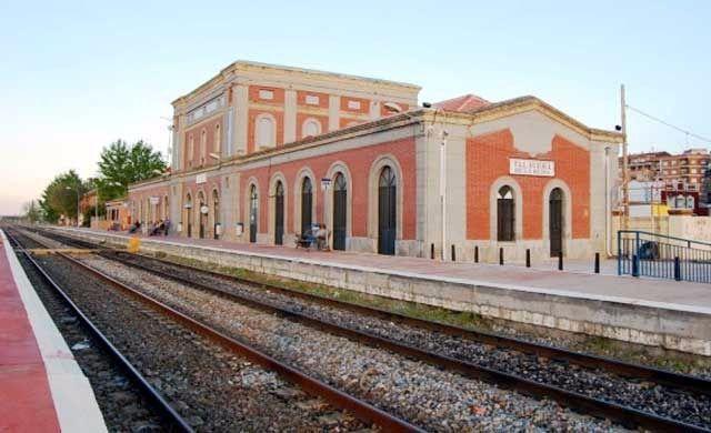 Imagen de la estación de Renfe en Talavera de la Reina.