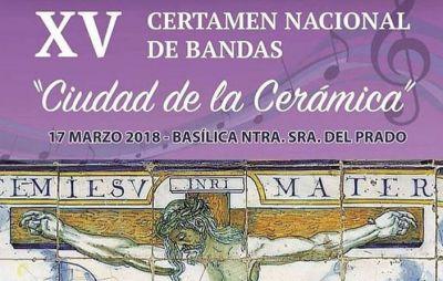 La Basílica del Prado acoge el XV Certamen de Bandas de Cornetas y Tambores de Talavera