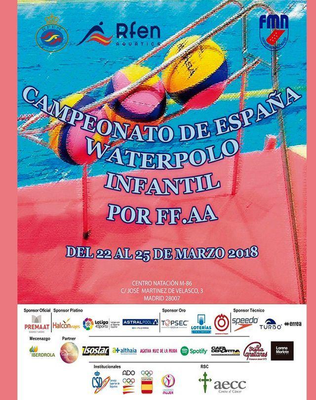 """Seis waterpolistas del """"Poseidón"""" de Talavera en el Campeonato de España Infantil"""