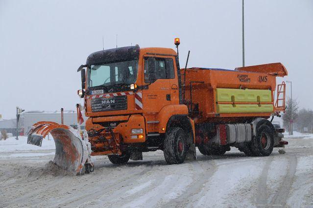 Preparadas las máquinas quitanieves para hacer frente a las nevadas en Castilla-La Mancha