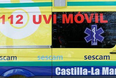 Un fallecido y dos heridos tras la colisión frontal entre un turismo y una furgoneta en Polán