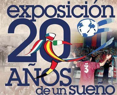 La exposición '20 años de un sueño' conmemora la conquista de la Copa de Europa por el CLM Talavera