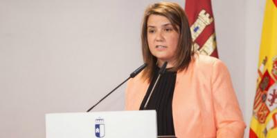 La consejera de Fomento, Agustina García-Élez
