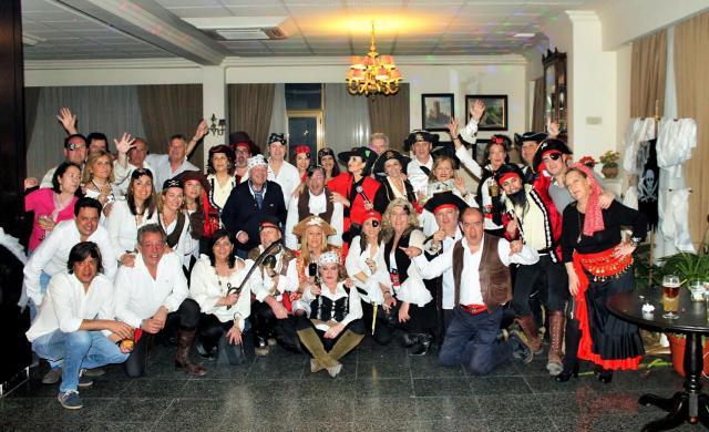 El Centro de Amigos del Casino de Talavera vivió una noche 'pirata'