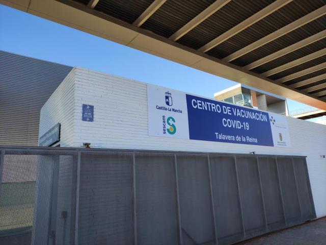 Talavera Ferial, centro de vacunación Covid-19 (Foto: D.M.M. / La Voz del Tajo)