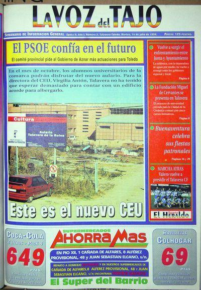 PORTADAS   'Mil números y cuatro décadas haciendo periodismo' (I)