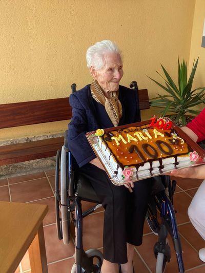 MARÍA GONZÁLEZ DEL PRADO   Cumplir 100 años en tiempos de coronavirus