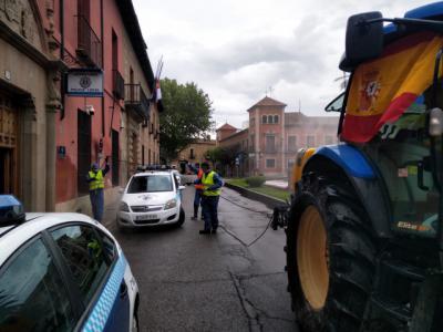 FOTOS Y VÍDEO | Tractores contra la pandemia