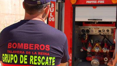 Un bombero de Talavera salva la vida a un hombre al practicarle la RCP
