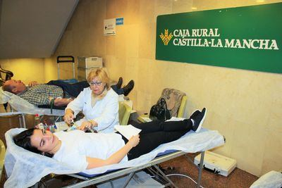 Éxito del 10º Maratón de Donación de Sangre en Caja Rural CLM
