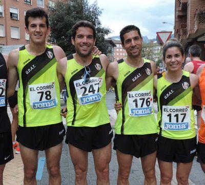 Excelente actuación de la UDAT en el Campeonato de España de 10km