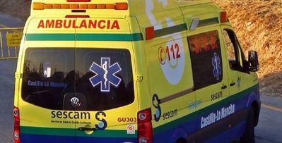 Dos heridos leves en un accidente con tres turismos implicados en la A-42