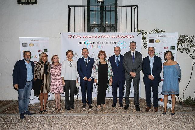 IV Cena benéfica a favor de Asociación de Familias de Niños con Cáncer de Castilla-La Mancha