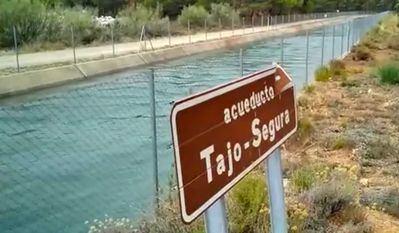 Canal del trasvase Tajo-Segura