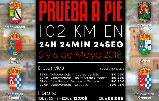 El gran reto de la comarca, la carrera de 102 km en 24 horas