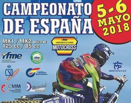El Campeonato Nacional de Motocross se disputa este fin de semana en Talavera