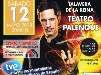 La magia de Toni Bright te hará 'Volver a Creer, este sábado en el Teatro Palenque