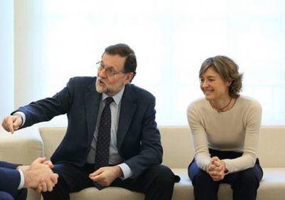 Rajoy y Tejerina en una imagen de archivo