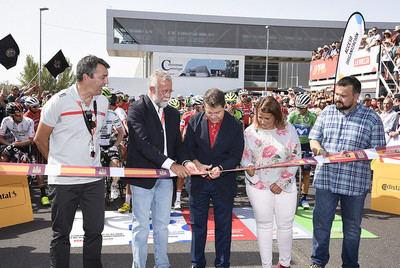Talavera es el epicentro nacional e internacional del mundo deportivo con la salida de La Vuelta Ciclista a España