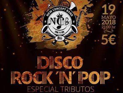 'Disco Rock'n'Pop Especial Tributos', este sábado en el Teatro Palenque