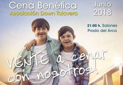 Down Talavera organiza su II Cena Benéfica para recaudar fondos para la asociación