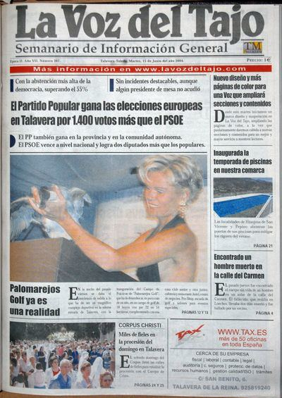 PORTADAS   'Mil números y cuatro décadas haciendo periodismo' (VII)