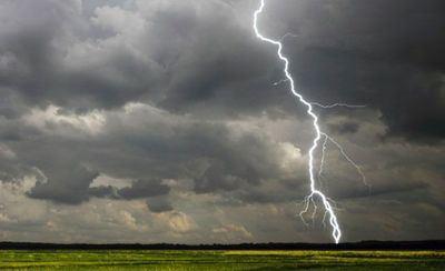 Riesgo por lluvias y tormentas este martes en Castilla-La Mancha