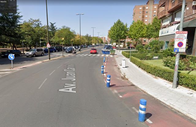 Avenida Juan Carlos I, en Talavera de la Reina
