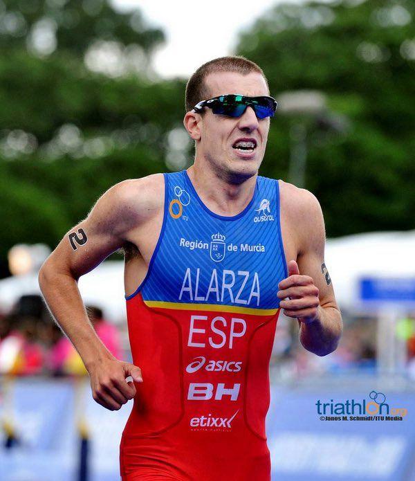 El triatleta talaverano Fernando Alarza será baja por lesión en las Series Mundiales de Leeds