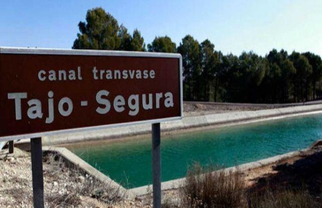 El Gobierno de España plantea el fin del trasvase Tajo-Segura