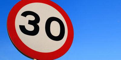 Estos son los nuevos límites de velocidad... y las sanciones