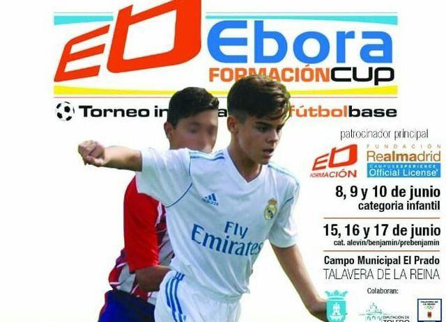 EBORA CUP 2018 | Benjamines y Alevines, desde este viernes en escena en El Prado