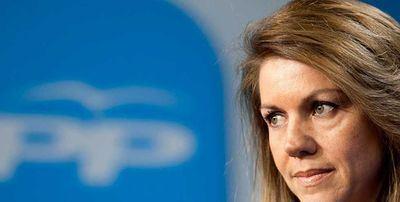 Cospedal podría anunciar este martes que se presenta como candidata a presidir el PP