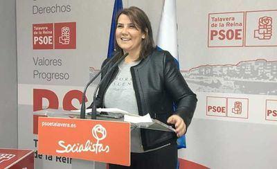 La secretaria general del Partido Socialista de Talavera de la Reina, Agustina García Élez