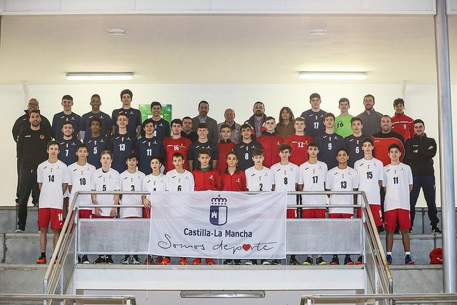 CLM colabora en la promoción de 'Torrijos, Villa Europea del Deporte' con las equipaciones de las selecciones de Deporte Escolar