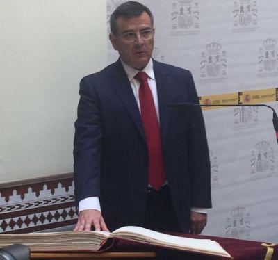 El talaverano Carlos Ángel Devia promete su cargo como subdelegado del Gobierno
