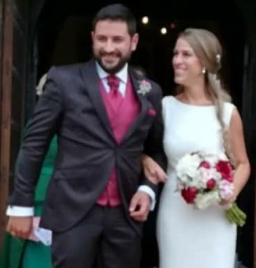 Isabel Rodríguez y Gonzalo Kraus se dan el 'sí quiero' en Mohedas de la Jara