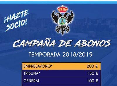 En marcha la campaña de abonos del CF Talavera
