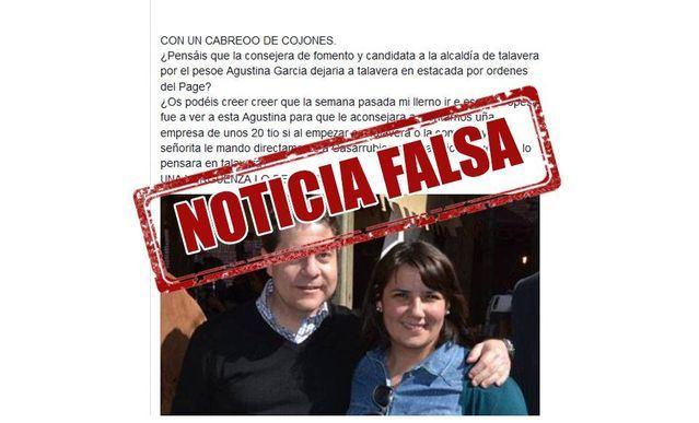Localizado el autor de las difamaciones contra Agustina García, que reconoció el hecho ante la Policía